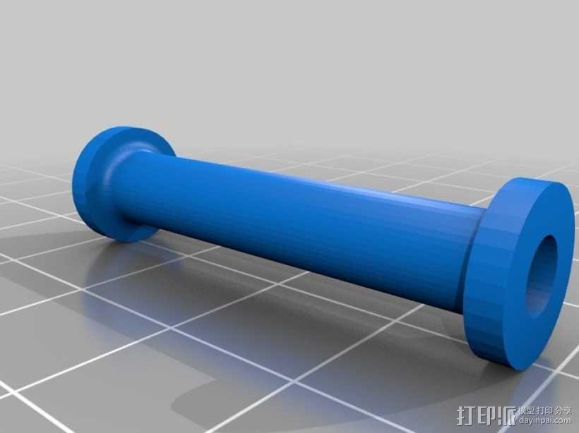 减速齿轮(1:256) 3D模型  图8
