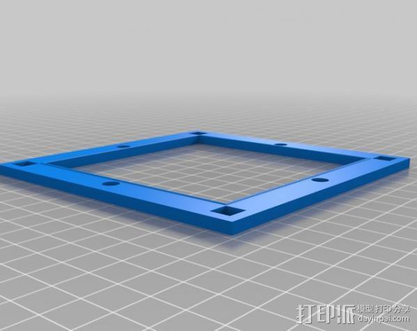 真空成形机 3D模型  图8