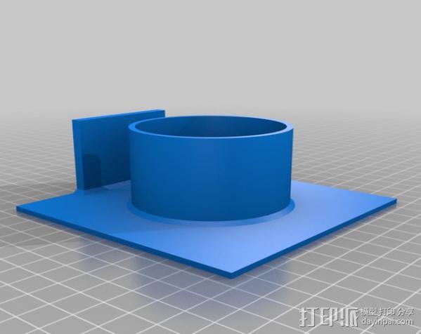 真空成形机 3D模型  图7