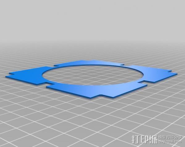 真空成形机 3D模型  图10