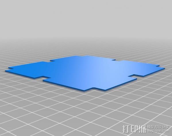 真空成形机 3D模型  图9