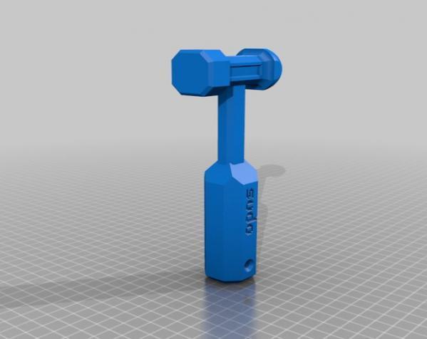 THWACK塑料锤 3D模型  图2