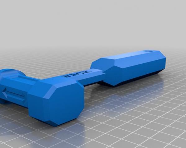 THWACK塑料锤 3D模型  图6