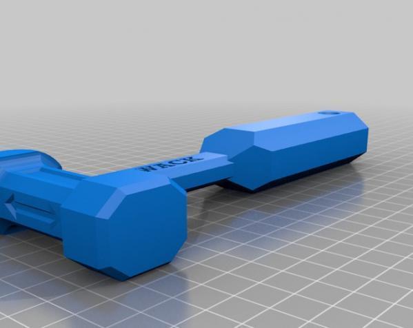 THWACK塑料锤 3D模型  图5
