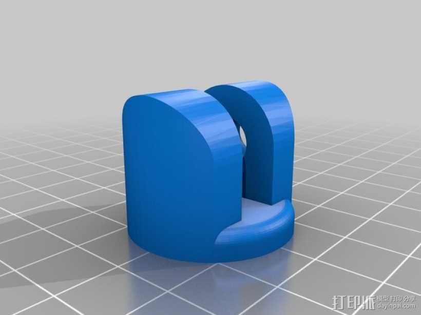 通用瓶盖三脚架 3D模型  图3