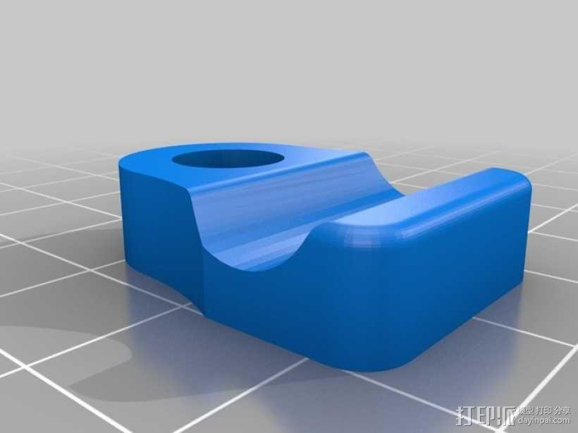 通用瓶盖三脚架 3D模型  图5