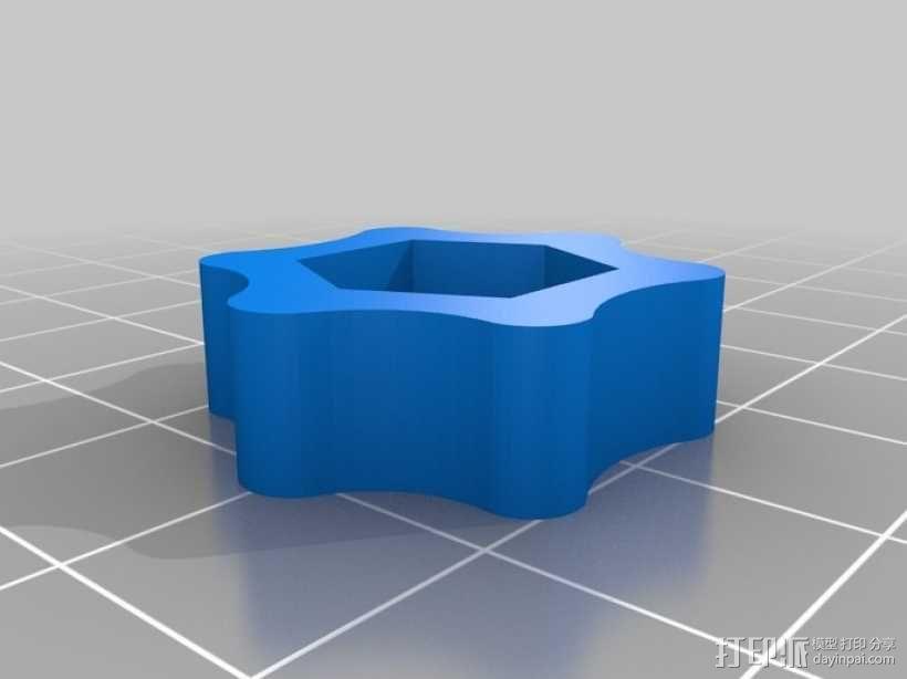 通用瓶盖三脚架 3D模型  图7