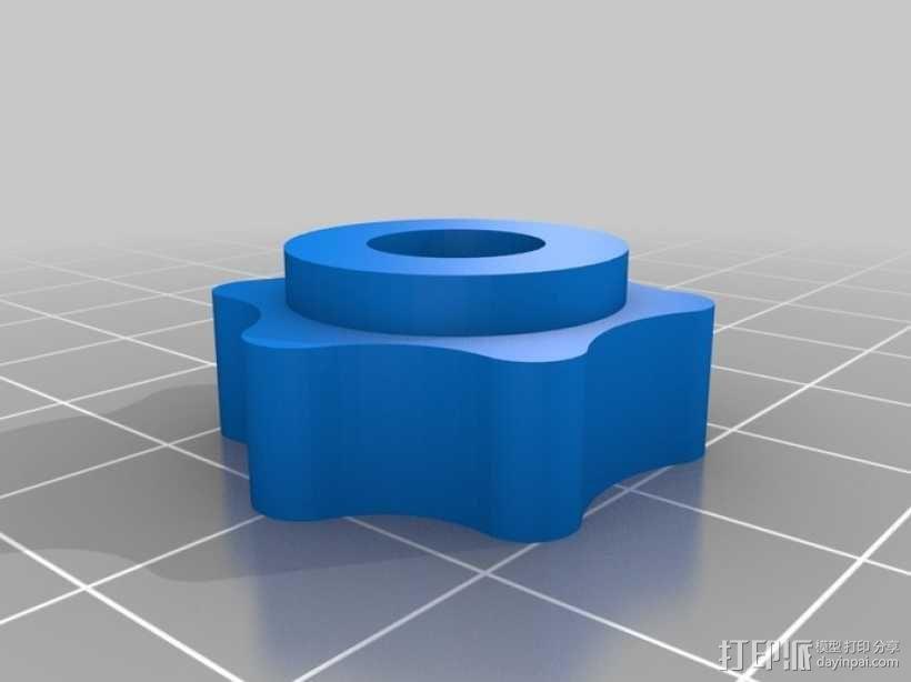通用瓶盖三脚架 3D模型  图8