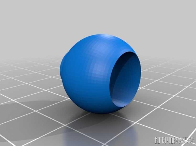 手机三脚架 3D模型  图2