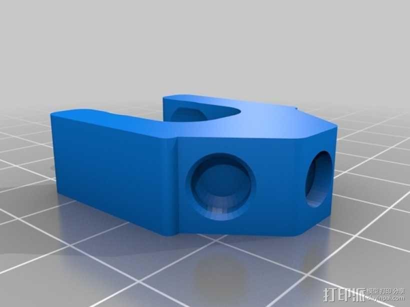 手机三脚架 3D模型  图3