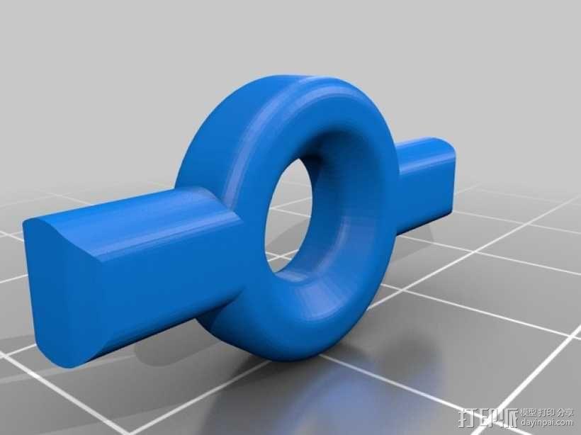 手机三脚架 3D模型  图6