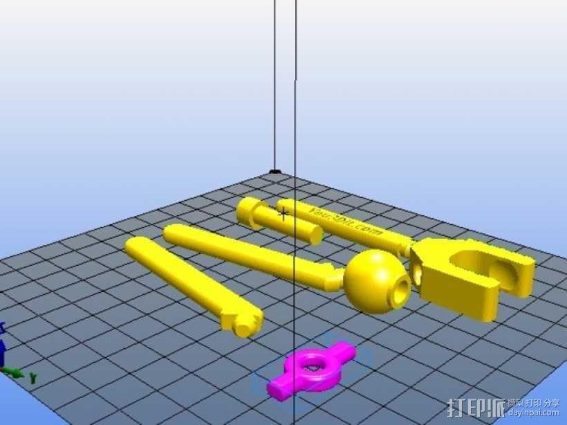 手机三脚架 3D模型  图11