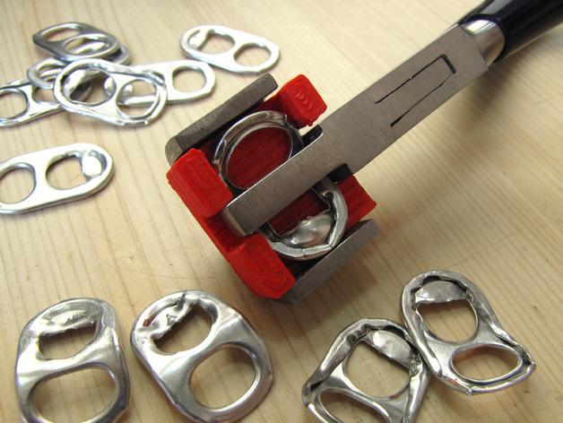 易拉罐环 锁甲 3D模型  图2