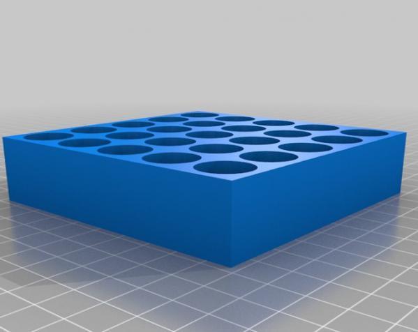 试管架 3D模型  图5