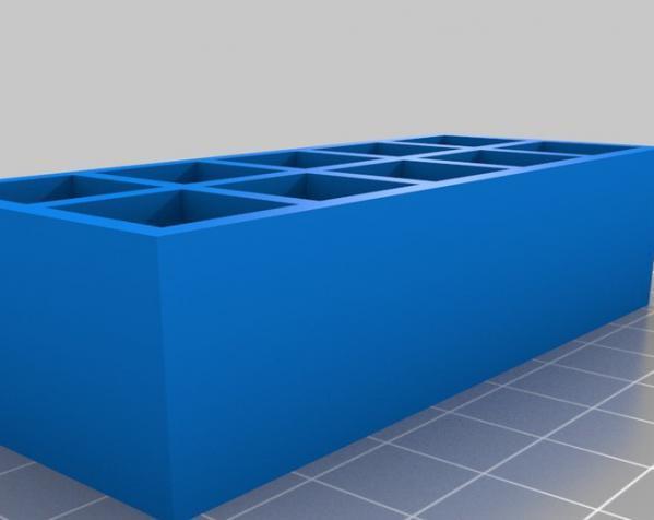 试管架 3D模型  图4
