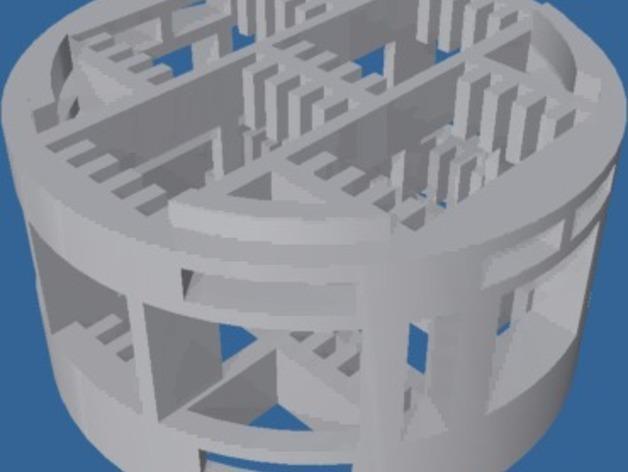 盖玻片容器 3D模型  图6