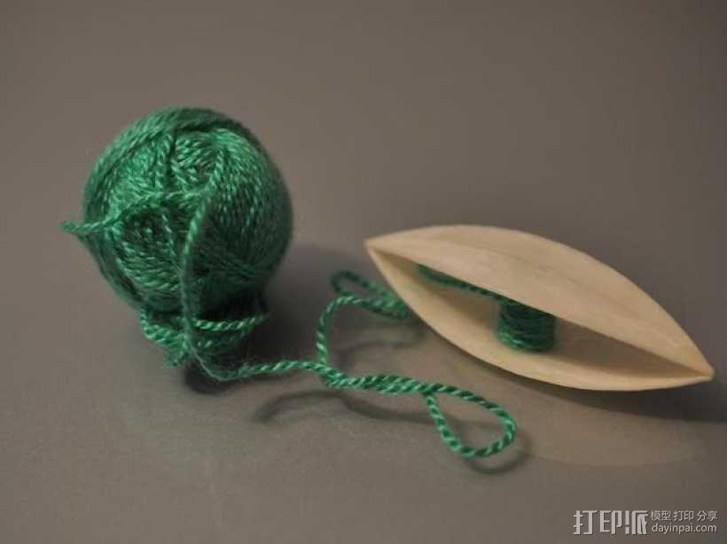 梭织 3D模型  图1