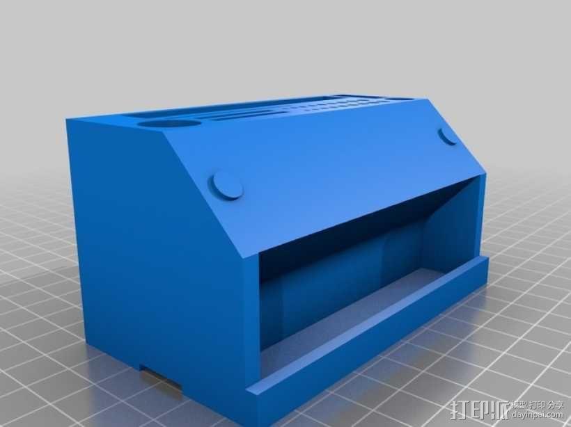 彩虹色工作台 3D模型  图2