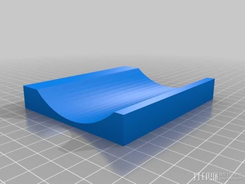 彩虹色工作台 3D模型  图1