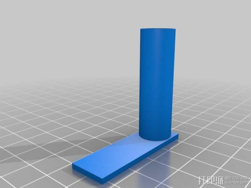 彩虹色工作台 3D模型  图3