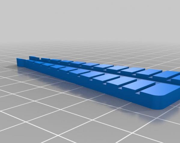电阻 成型工具 3D模型  图1