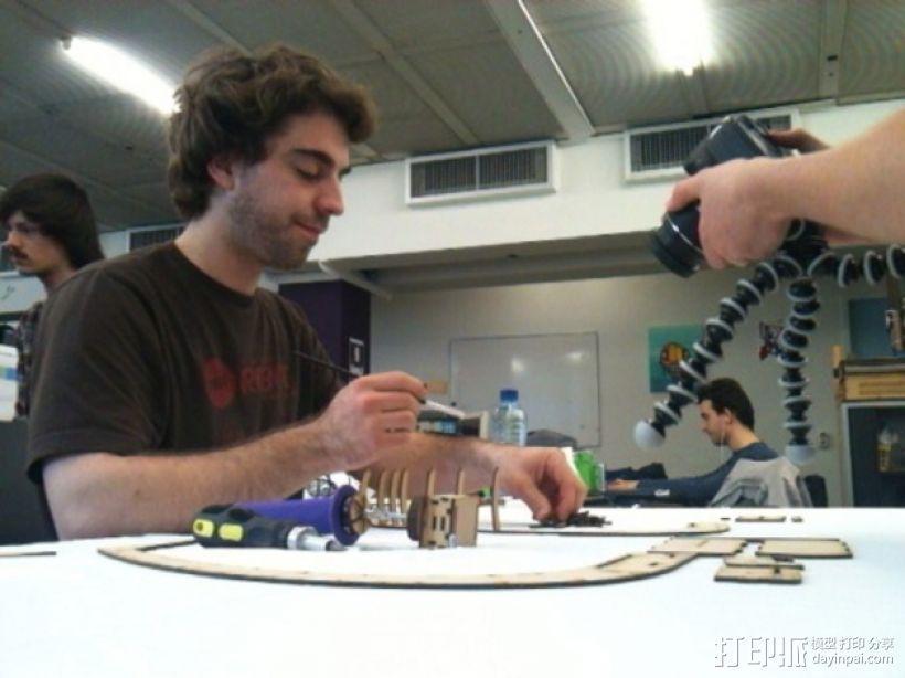 摄影机稳定器 3D模型  图7