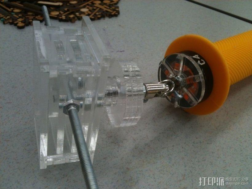 摄影机稳定器 3D模型  图10