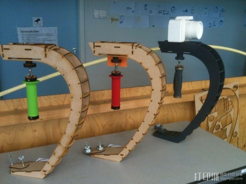 摄影机稳定器 3D模型  图11
