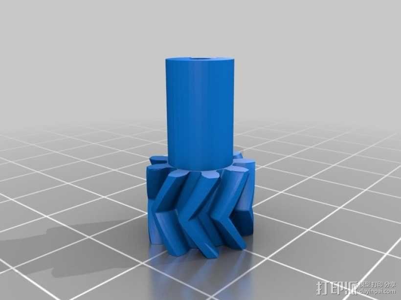 O形链式起重机 3D模型  图5
