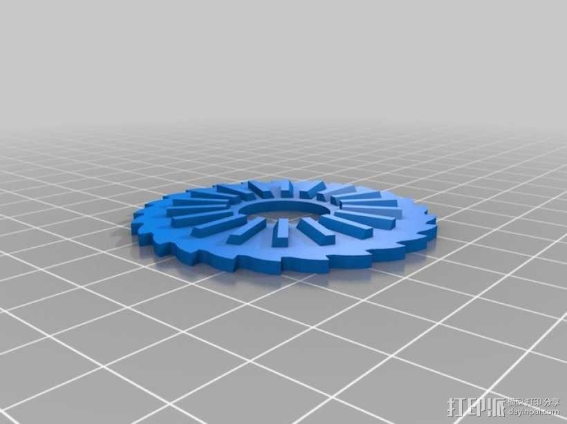 O形链式起重机 3D模型  图7