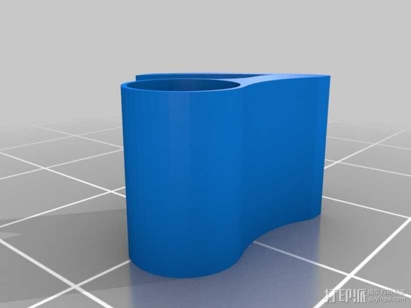 O形链式起重机 3D模型  图6