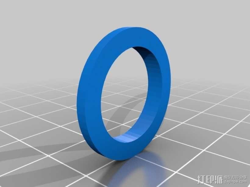 O形链式起重机 3D模型  图16