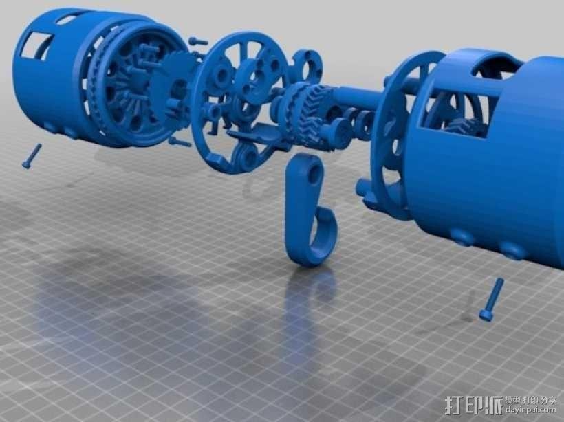 O形链式起重机 3D模型  图21