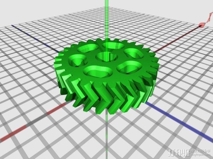 O形链式起重机 3D模型  图22