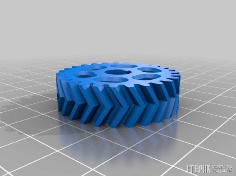 O形链式起重机 3D模型  图23
