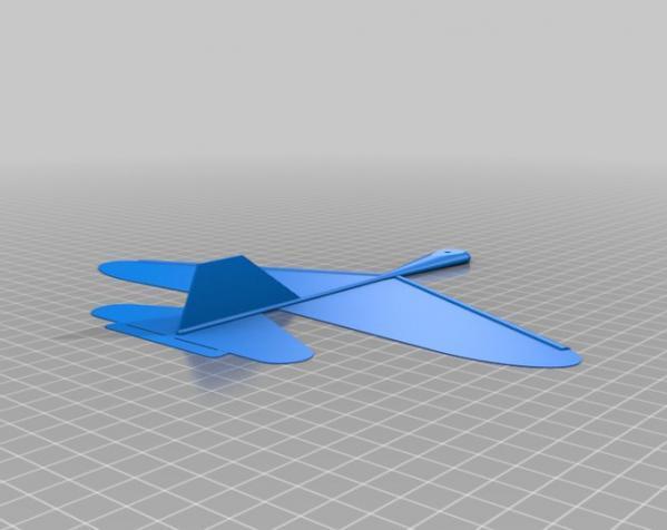 Bukobot Fly滑翔机 3D模型  图2