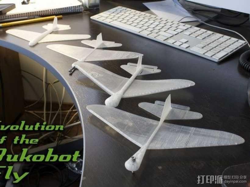 Bukobot Fly滑翔机 3D模型  图10