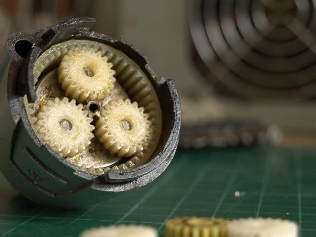 IXO齿轮 3D模型  图2