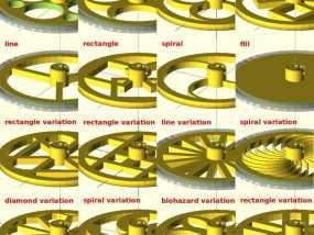 花式轮子 3D模型