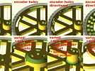 花式轮子 3D模型 图3