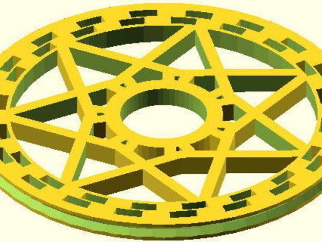 花式轮子 3D模型  图11