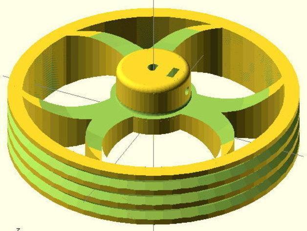 花式轮子 3D模型  图10