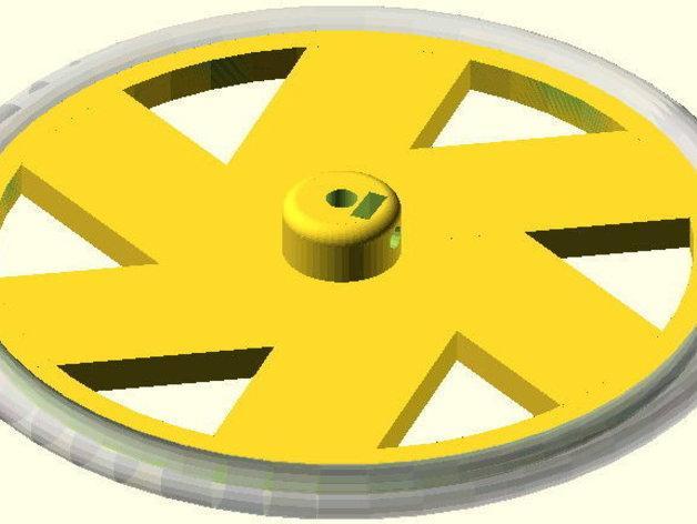 花式轮子 3D模型  图6