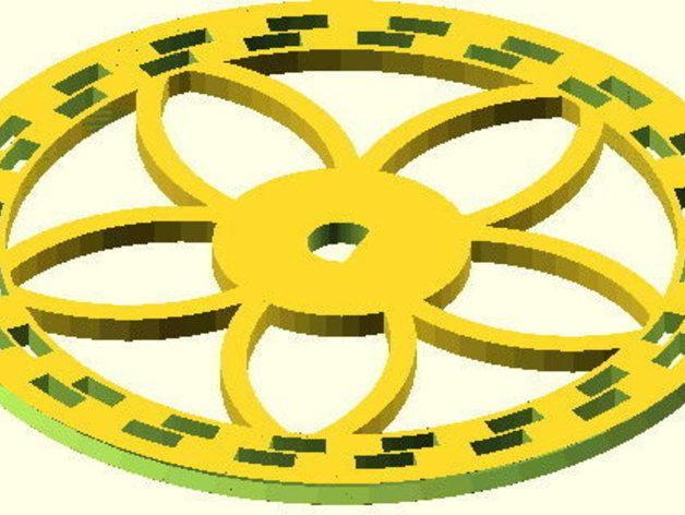 花式轮子 3D模型  图12