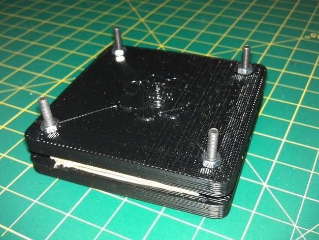 花 磨具 3D模型  图3