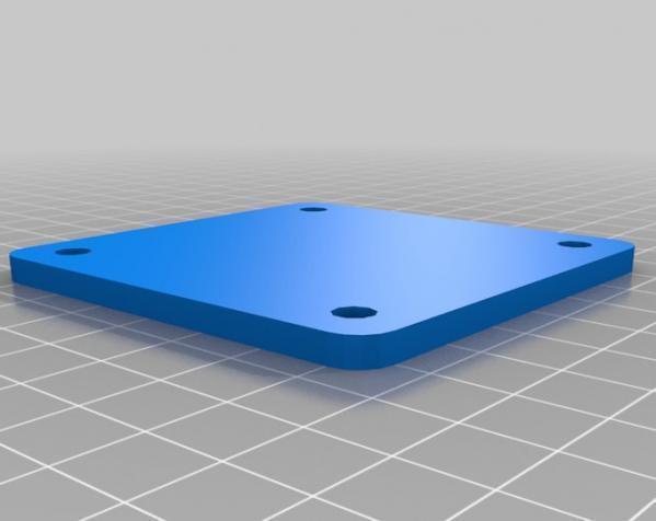 花 磨具 3D模型  图2