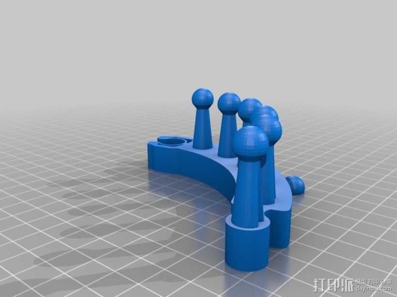 织布机 3D模型  图4