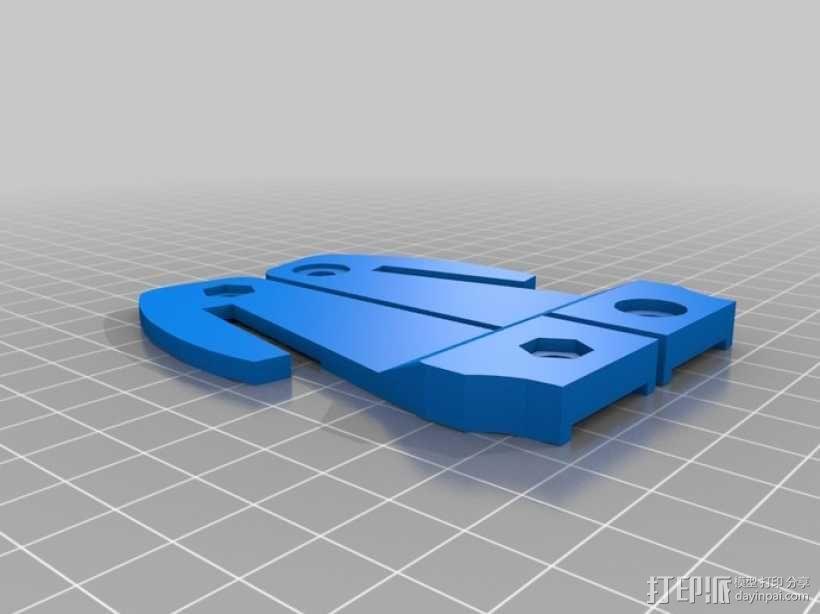 汽车安全锤 3D模型  图1