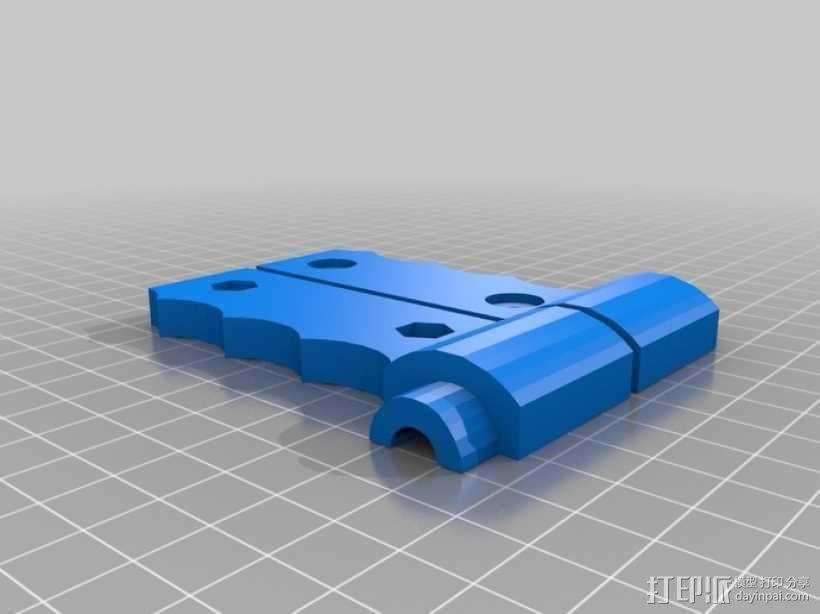 汽车安全锤 3D模型  图2