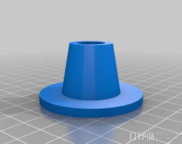 X-Acto美工刀 刀架 3D模型  图1